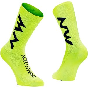 EXTREME AIR MID SOCK - Yellow